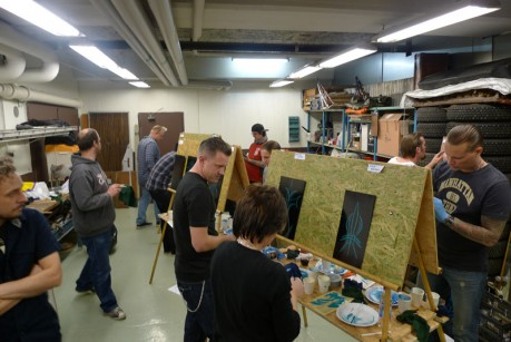 pinstriping workshop