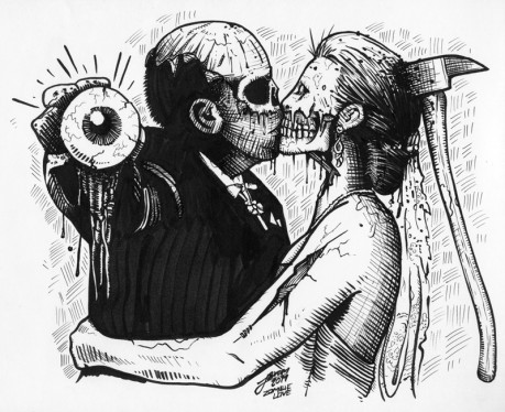 Zombie Love Illustration