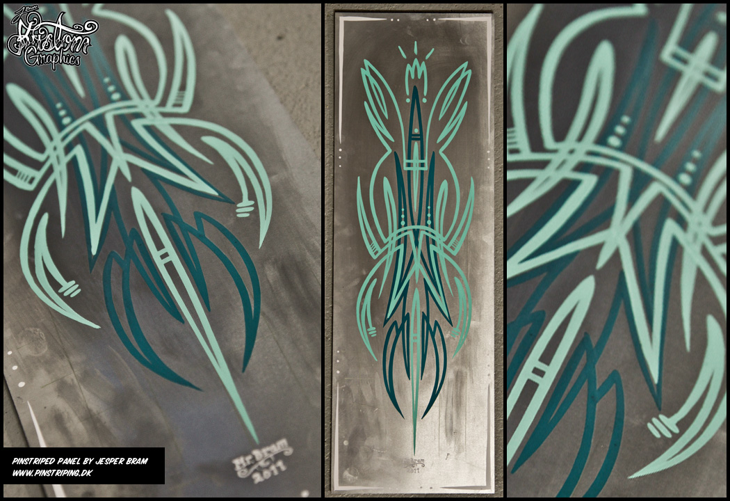 Pinstriping Examples By Mr Bram